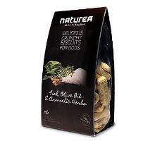 Naturea GF sušienky - ryby, olivový olej, bylinky 230g