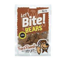 Brit pochoutka Let's Bite Bears 150g