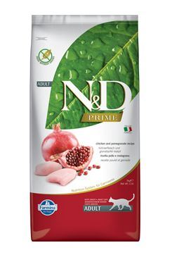 N & D PRIME CAT Adult Chicken & Pomegranate 5kg