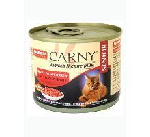 Animonda konzerva CARNY Senior - hovädzie + morčacie srdcia 200g