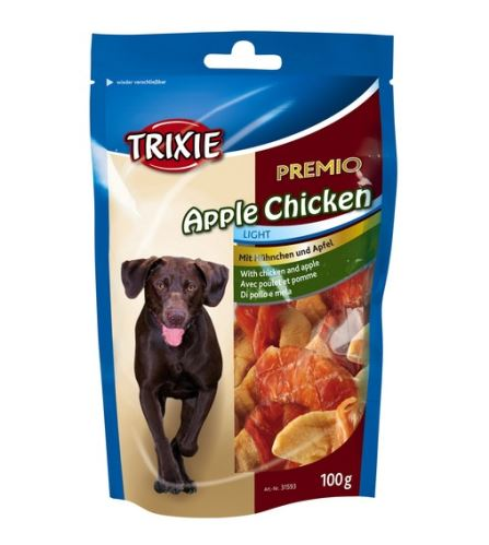 Premio APPLE CHICKEN Light - kuracie mäso so suš.jablky 100 g