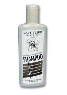 Gottlieb šampón s makadamovým olejom čierny pudel 300ml