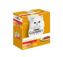 Gourmet Gold Mltp konz.mačka kúsky v šťave 8x85g