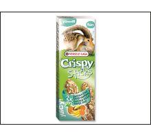 Tyčinky Versele-LAGA Crispy s exotickým ovocím pre škrečky a veveričky 110g