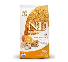 N&D Low Grain CAT Adult Codfish & Orange 2 balenia 10kg