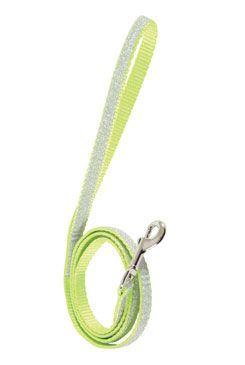 Vodítko mačka SHINY nylon zelené 1m Zolux