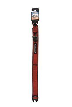 Obojok IMAC nylon červený 56-68 / 3,8 cm