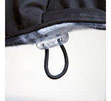 Oblek ROUEN čierny pre buldočeky S 36 cm (36-56 cm)