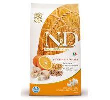 N&D Low Grain DOG Adult Maxi Codfish & Orange 2 balenia 12kg