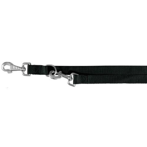 Vodítko CLASSIC predlžovacie 2,0 m / 20 mm (M - L) - čierna