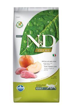 N & D PRIME CAT Adult Boar & Apple 5kg