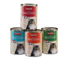 Animonda konzerva BROCCONIS - hovädzie, hydinové pre mačky 400g