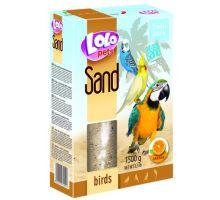 Lolopets pomarančový piesok pre vtáky 1500 g