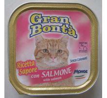 Gran Bonta paštéta s lososom pre mačky 100g