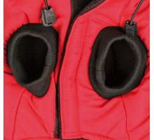 Červená vesta PALERMO s odopínacou kapucňou TRIXIE S 36 cm