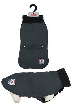 Oblek vodeodolný pre psov RIVER čierna 40cm Zolux