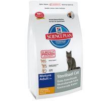 Hill's Feline Dry Adult Mature 7+ Sterilized 3,5kg