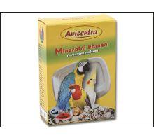 Blok minerálne AVICENTRA s drvenými mušľami pre papagáje 1ks