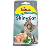 Gimpet mačka konz. ShinyCat kura / krevety 2x70g