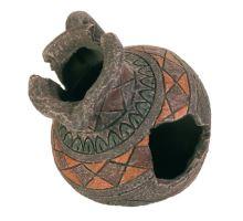 Dekorácie románsky džbán 13,5x12,5cm