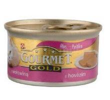 Gourmet Gold konzerva mačka jemná paštéta hovädzie 85g
