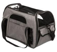 Cestovná taška ETHAN 25 × 33 × 50 cm, nylon, sivá