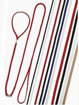 Vodítko nylon Predvádzacie popruh červený 120/5 VÝPREDAJ