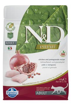 N & D PRIME CAT Adult Chicken & Pomegranate 300g
