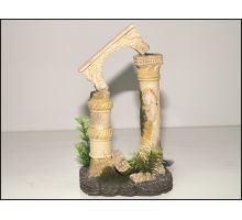 Dekorácie akvarijné Antické stĺpy 12,5 x 10,5 x 20 cm 1ks VÝPREDAJ