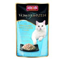 VF kapsička kuřecí filet + bílý tuňák v jemné omáčce 50 g