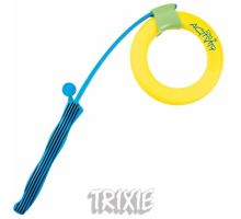 Katapult s plávajúcim kruhom Dog Activity tvrdá guma 48/17cm