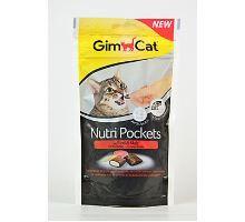 Gimcat Nutri pockets hovädzie a mált pasta 60g