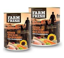 Topstein Farm Fresh Chicken with Herring, Cranberry 400g