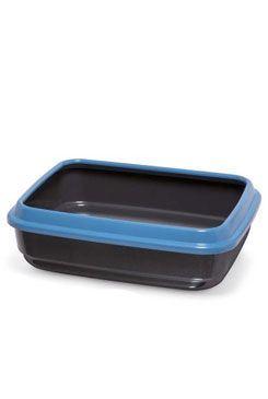 WC mačka z recyklovaného plastu čierna 50x40x14,5cm