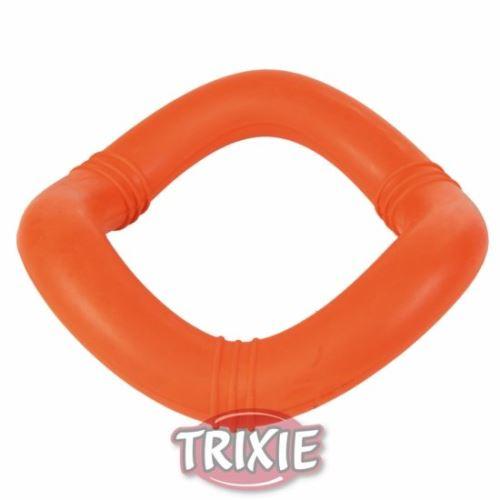 Plávajúci vlnitý kruh, tvrdá guma 15cm Trixie