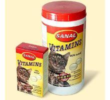 Sanal Vitamins kalciové tablety 100 tbl.