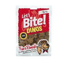 Brit pochoutka Let's Bite Dinos 150g