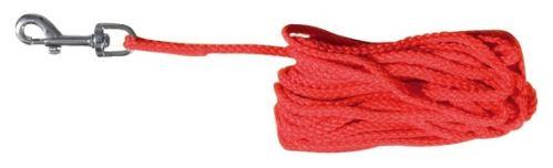 Predlžovací vodítko šnúra červená 10m
