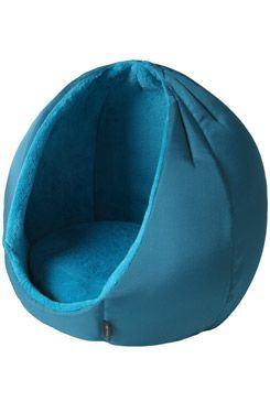 Pelech domček Kukaňa KING modrá 45cm D67