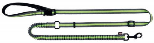 Jogging vodítko 1,33-1,80 m / 20 mm šedo / zelené
