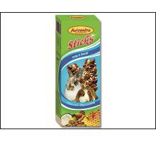Tyčinky pre veľké hlodavce orechové 2ks