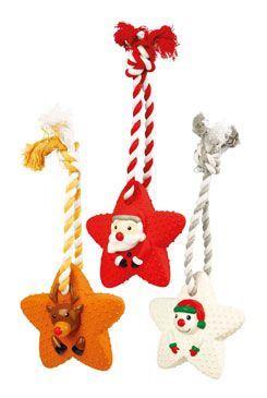 Vianočné Hviezda na šnúrke so zvukom 22cm TR 1ks