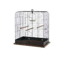 Klietka vtáky RETRO MADELEINE kov / drevo 54x34x53cm Zolux