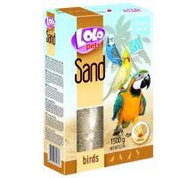 Lolopets piesok s mušľami pre vtáky 1500 g
