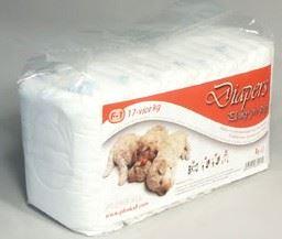Plienky pre psov 13-17 kg 15ks