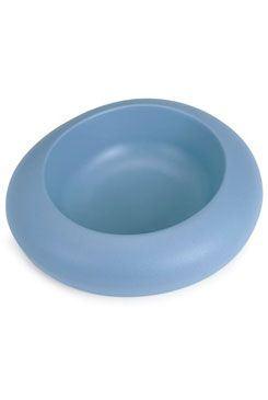 Miska plast pes dizajnová 600ml modrá IMAC