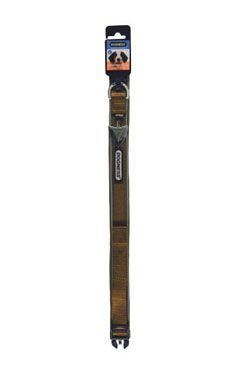 Obojok IMAC nylon hnedý 56-68 / 3,8 cm