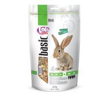 Lolo BASIC kompletné krmivo pre králiky 600 g doypack