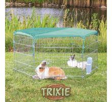 Sieť k ohrádke pre králiky zelená/oko 1x1cm