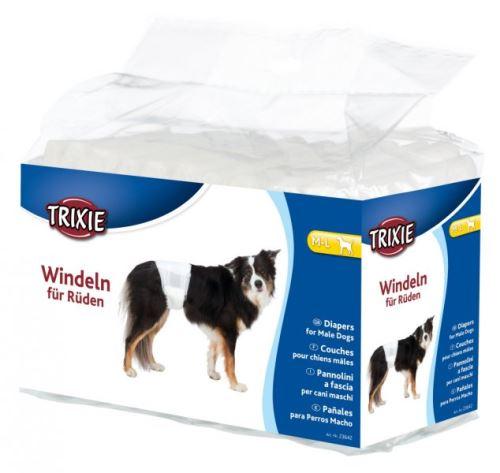 Papierové plienky pre psov ML 45-60 cm [12 ks / bal.]